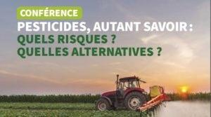 Conférence sur les pesticides